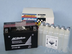 ACDelco/ACデルコ バイク用バッテリー DTX9-BS