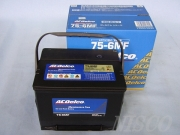 ACDelco/ACデルコ 米国車用バッテリー 75-6MF ロゴ